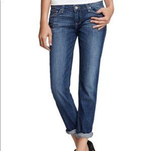Paige Jimmy Jimmy Boyfriend Skinny Jeans, Size 27